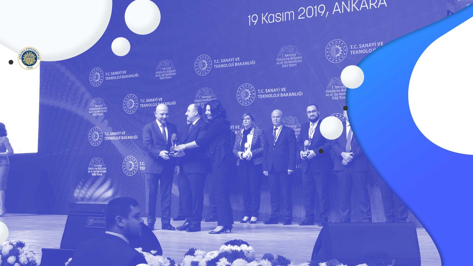 T.C. Sanayi ve  Teknoloji Bakanlığı'ndan Ödül